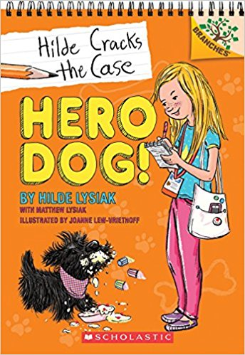 HILDE CRACK THE CASE HERO DOG
