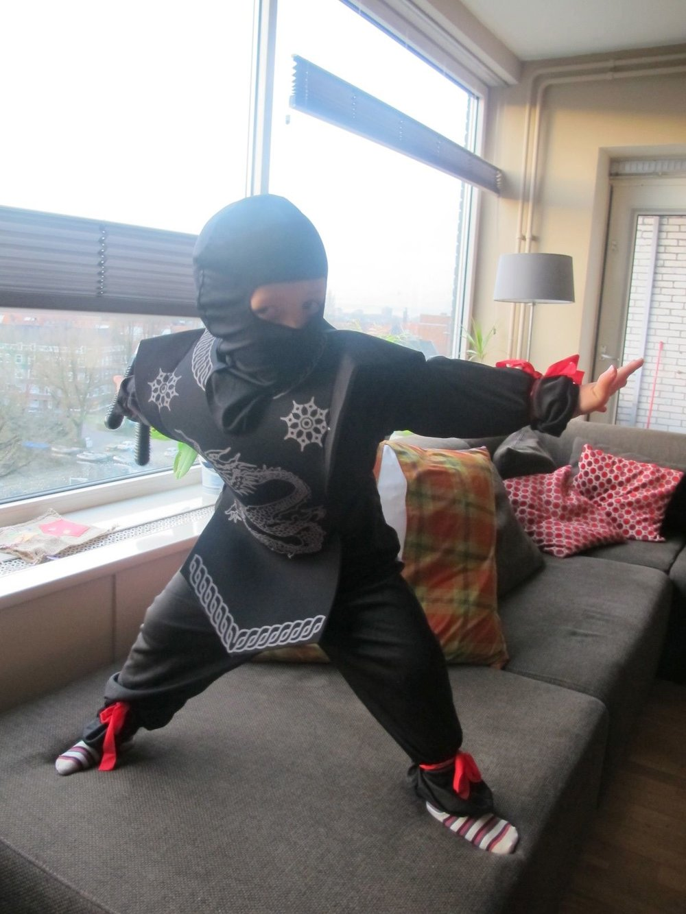 My son the Ninja warrior, photo ©JLV