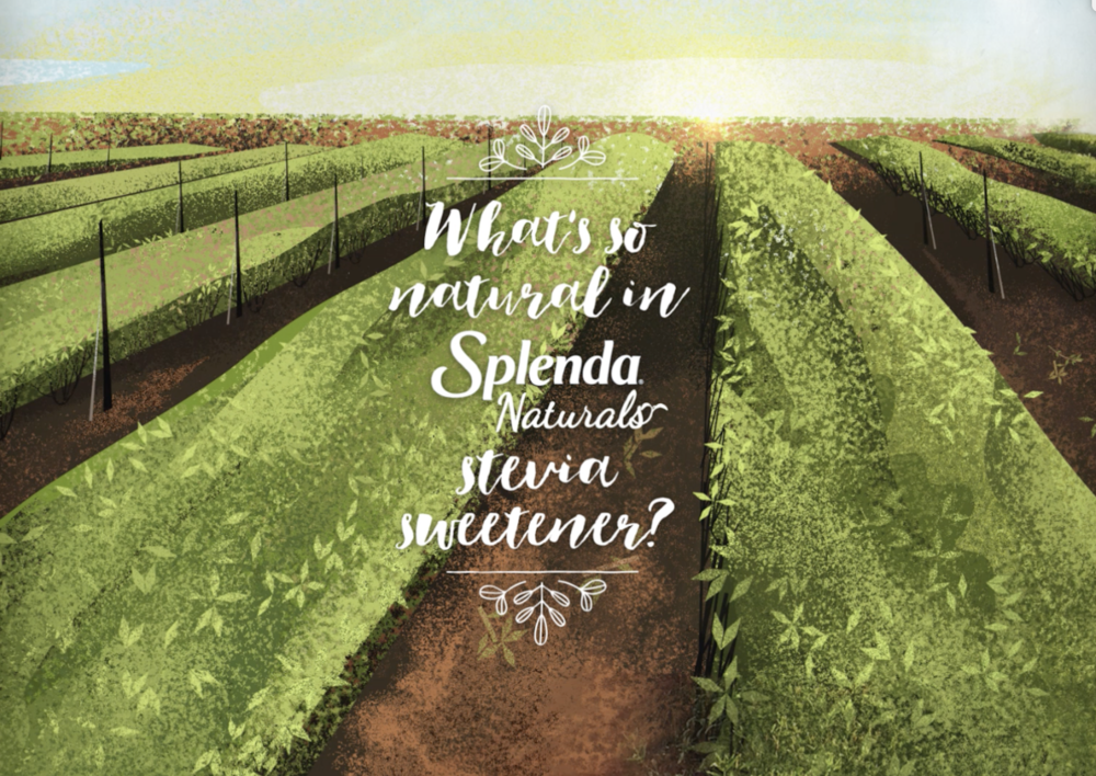 Stevia commercial design  - Here are some design I did for Tendril's Splenda commercial.