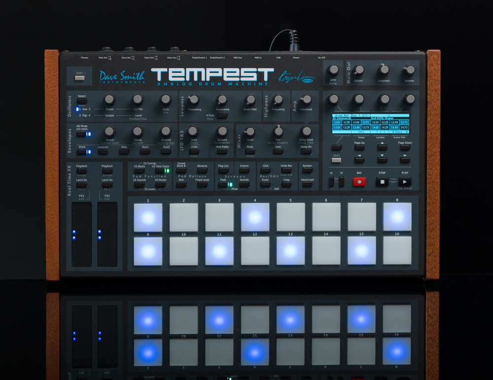Tempest analog trommemaskin fra Dave Smith Instruments