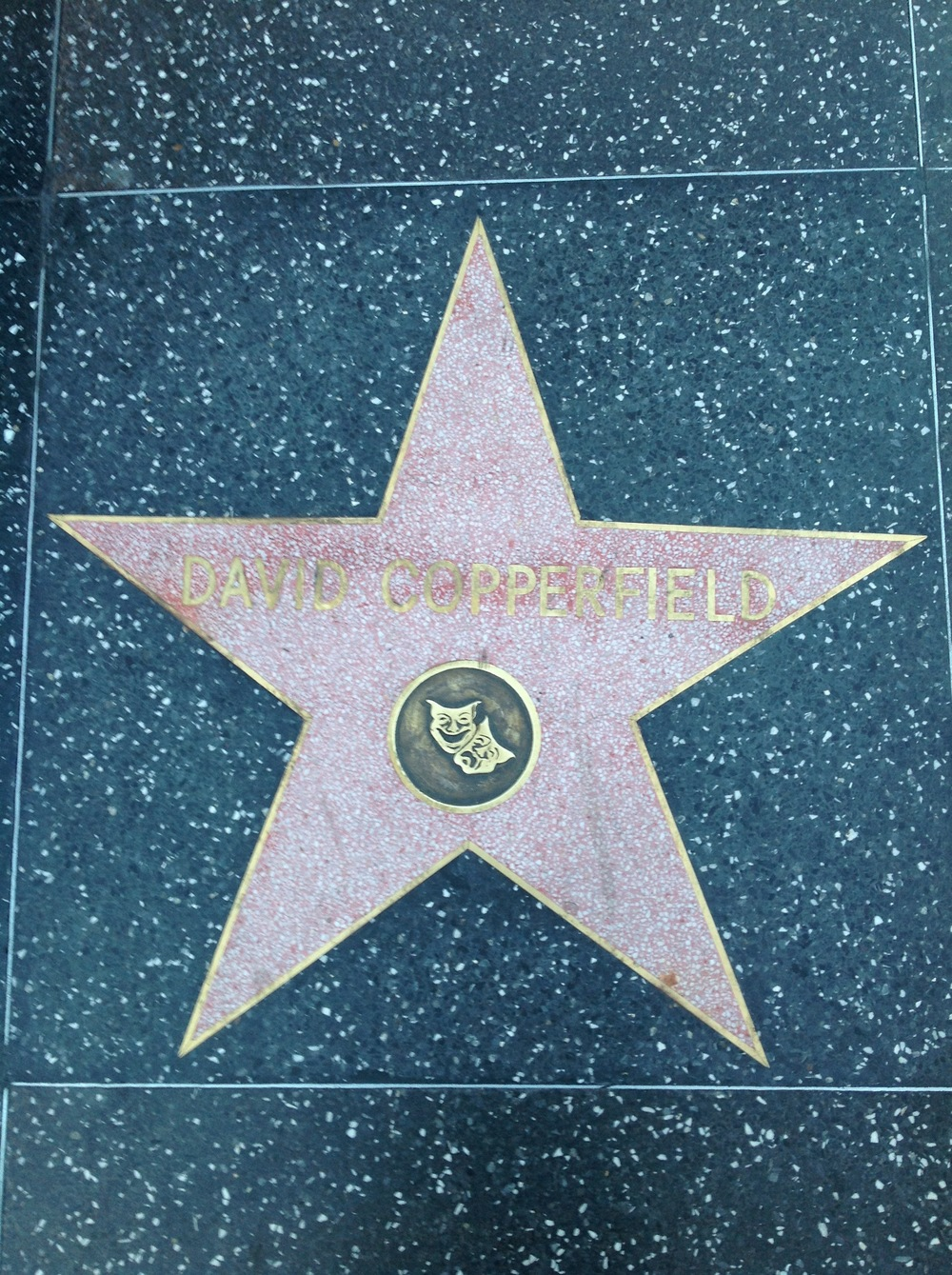 David Copperfield on the Walk of Fame