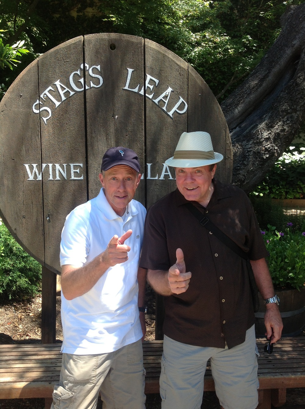 Walt Turner & Scott Wells at a Napa Valley Winery