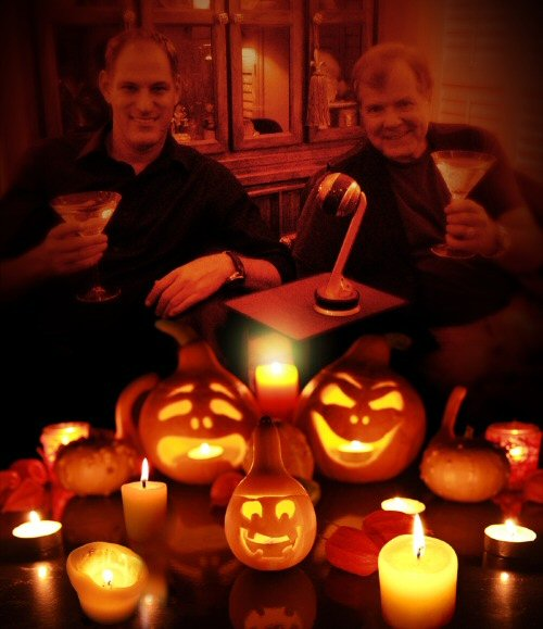 Halloween cheers from Roy Zaltsman and Scott Wells.