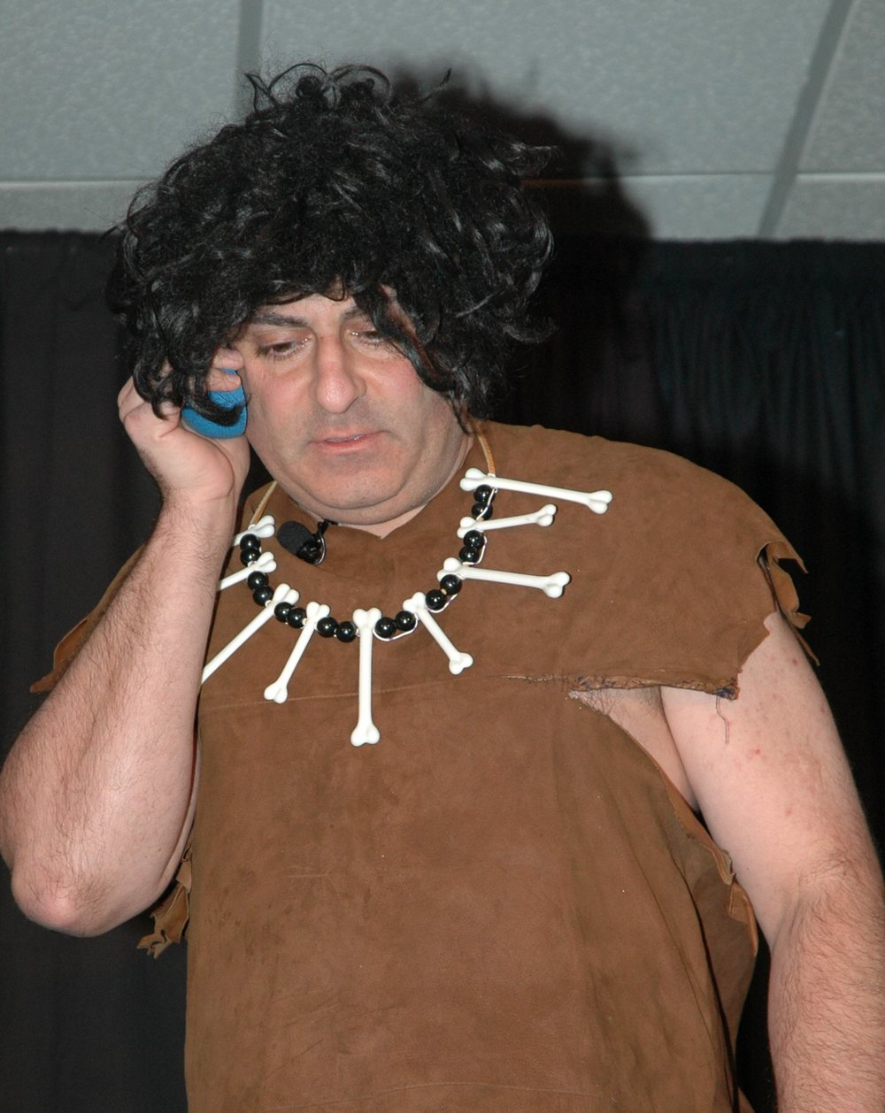 "Silly Billy as ""Og the Caveman"""