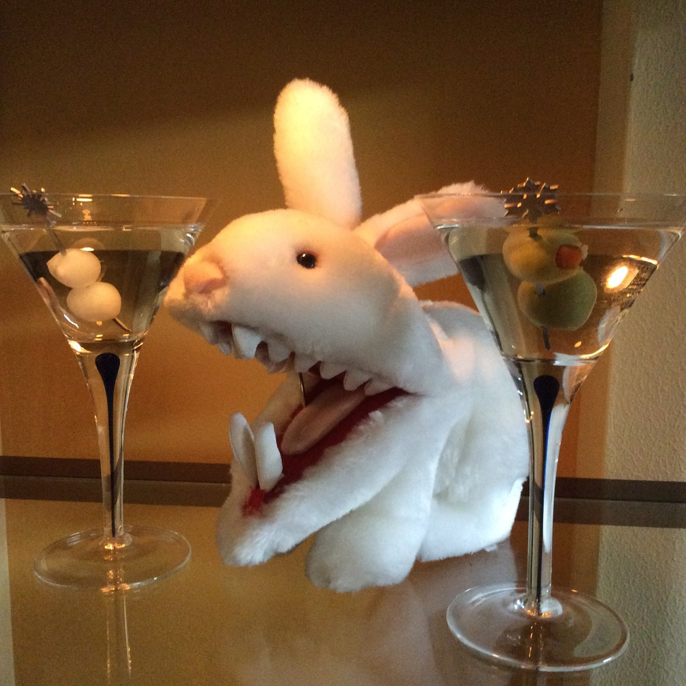 "Don't let your pet rabbit turn into a mutant because you don't have a ""disaster plan"" for a nuclear attack. Cheers!"