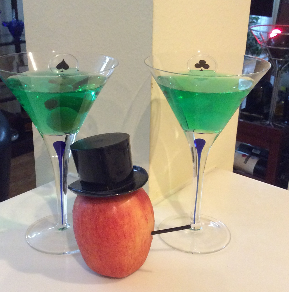 Magic Apple-tinis. Cheers!