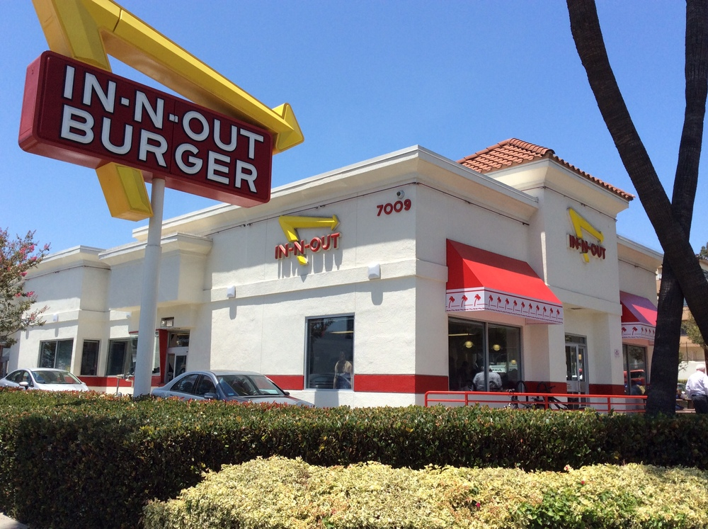 In 'N Out in L.A.