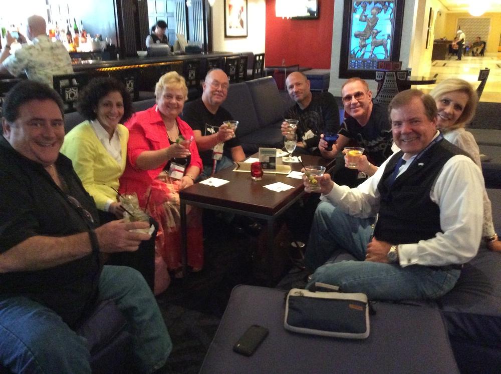 Joe Curcillo, Debbie Curcillo, Carol Garrett, Jim Cox, John Graybeal, Jarvis, Scott Wells & Kathy Wells