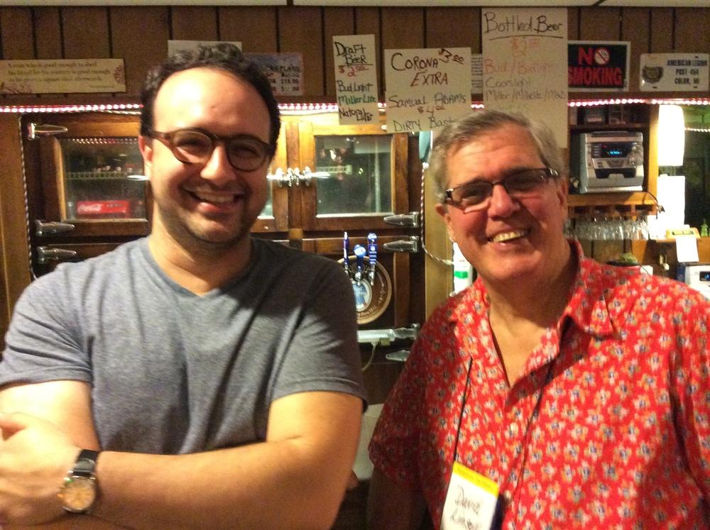Gabe Fajuri and David Linsell