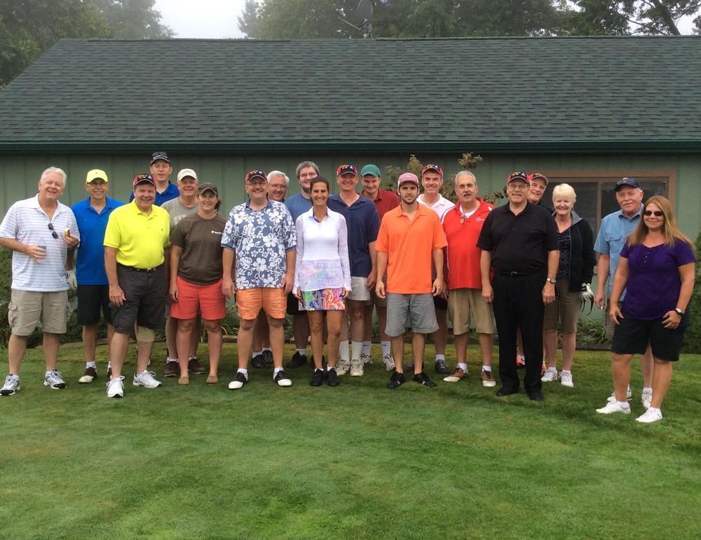 25th annual Colon Open golfers