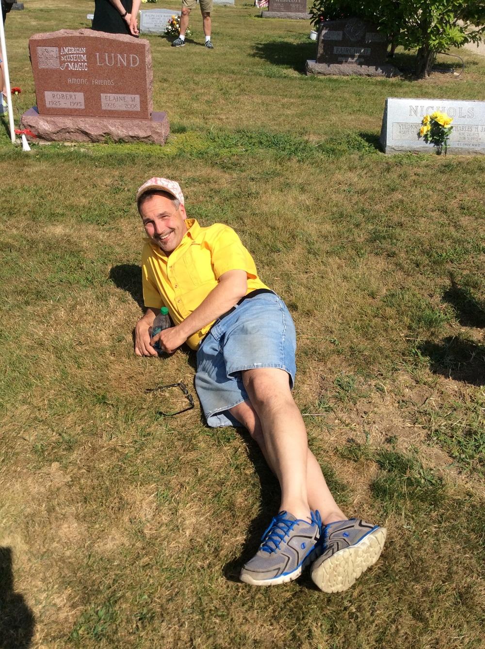 Bibik's gravesite