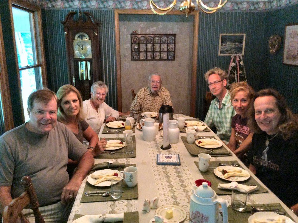 Scott, Kathyh wells, Nina Shindler, George Shindler, Ted Outerbridge, Marion Outerbridge, Losander