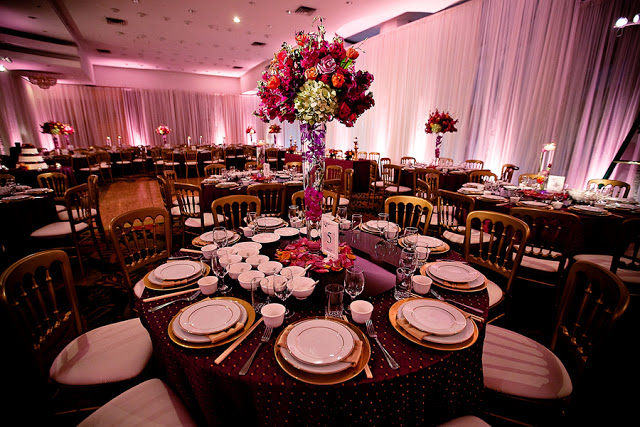 One of the many banquet rooms available for the Bay Area Dinner Show