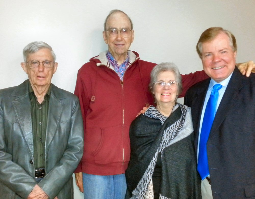 Gene Willard, Walter Blaney, Madeline Willard, Scott Wells