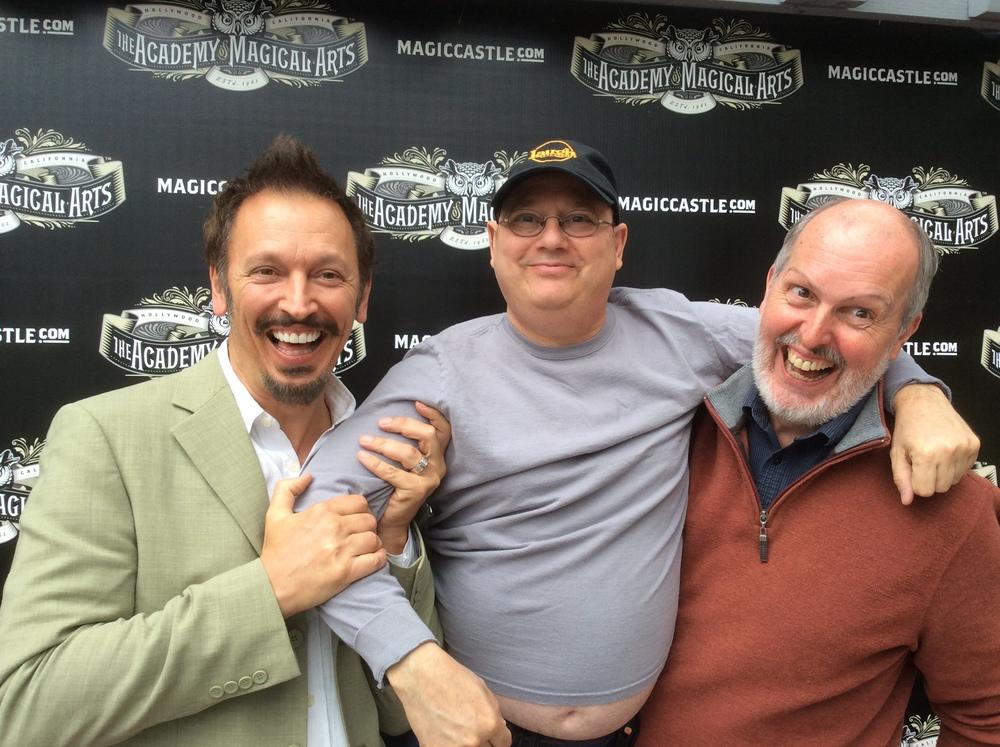 Steve Valentine, Alan Bursky & Chris Philpott