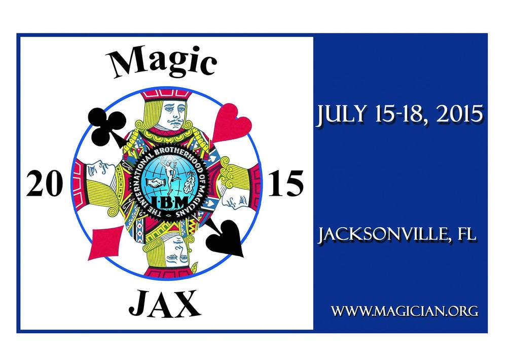 If you have not yet made your reservation for your hotel room at the Hyatt Regency for the Jacksonville convention which takes place July 15th - 18th, 2015, your time is running out! After June 15th, the convention rate of only $99 will end, and there will be no guarantee of availability of additional room reservations. If you are planning on attending the Jacksonville convention which promises to be a fantastic event, register for the convention, and MAKE YOUR HOTEL RESERVATION NOW!!!! You can register for the convention here: https://www.magician.org/convention/online-registration You can make your hotel reservation here: https://aws.passkey.com/g/20902549 or by calling the Hyatt Regency directly at 1-800-421-1442.