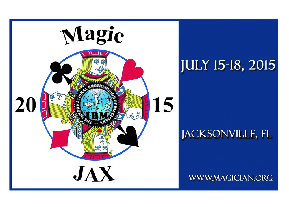 Register today for the I.B.M. convention in Jacksonville, Florida. Lots of great talent like Tom Mullica, Boris Wild, Eric Buss, Paul Cummins, the Outerbridges, David and Leeman, Soma, Bill Abbott, Chad Long, David Kaplan, and a lifetime award and tribute to Fantasio plus many, many more top international performers. Click on the banner above for more information. Join your friends and sign up today!