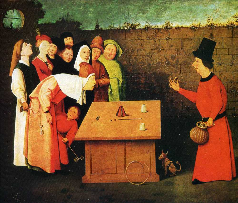 """The Conjurer"" by Hieronymus Bosch"