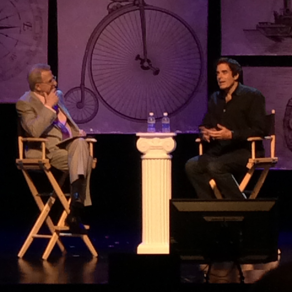 One onone : Stan Allen with David Copperfield