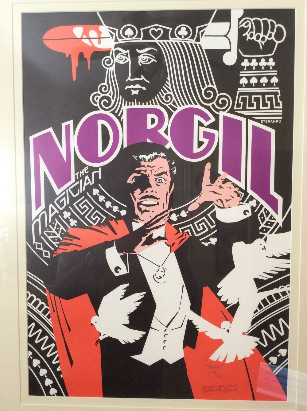 Norgil Poster Talked about during the podcast