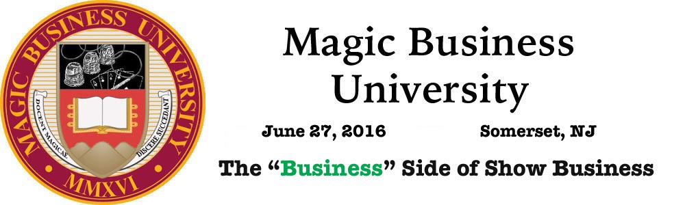 Get half off the morning session price of $40.00 now through April 30, 2016. Send an email to sales@magicbusinessuniversity.com with the subject line The Magic Word Podcast to receive the discount. You will then receive an invoice to pay the reduced registration price. This is an exclusive offer for Magic Word listeners.