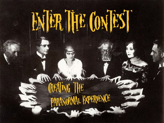 """Register to win a copy of """"Creating the Paranormal Experience Lecture Notes"""" by Jamie Salinas and Scott Wells"""