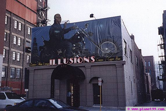 "The Former ""Illusions Restaurant"" in Carmel, Indiana"