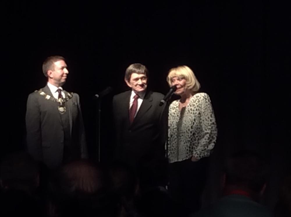 Joe Turner, Johnny Thompson and Pam