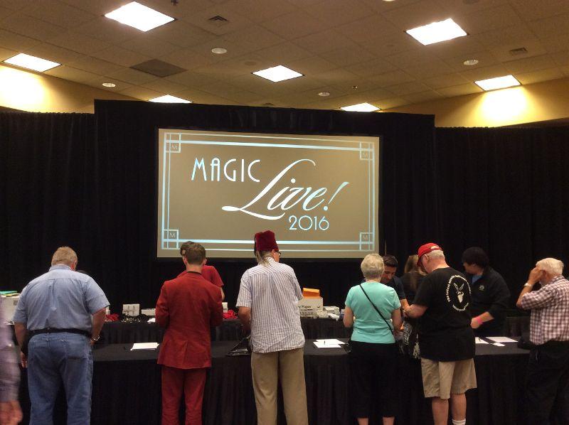 Registration for MAGIC Live!