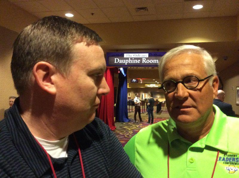 Rick Merrill and Stev Bargatze