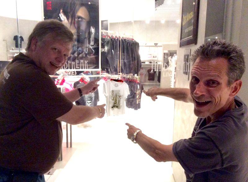 Mark Jensen and Chip Romero