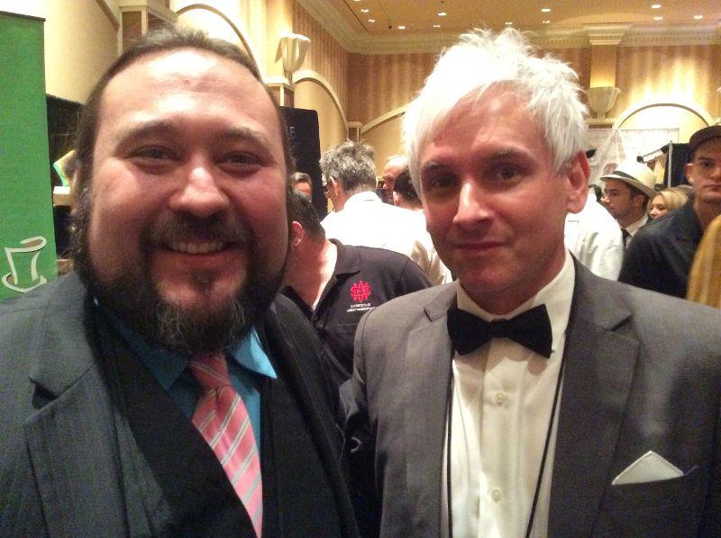 Paul Draper and Chad Long