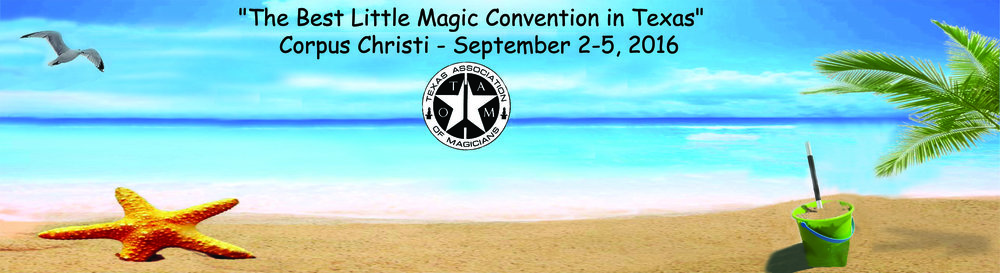 Come to Corpus Christi, Texas TODAY and register at the convention to enjoy all the rest of the activities.
