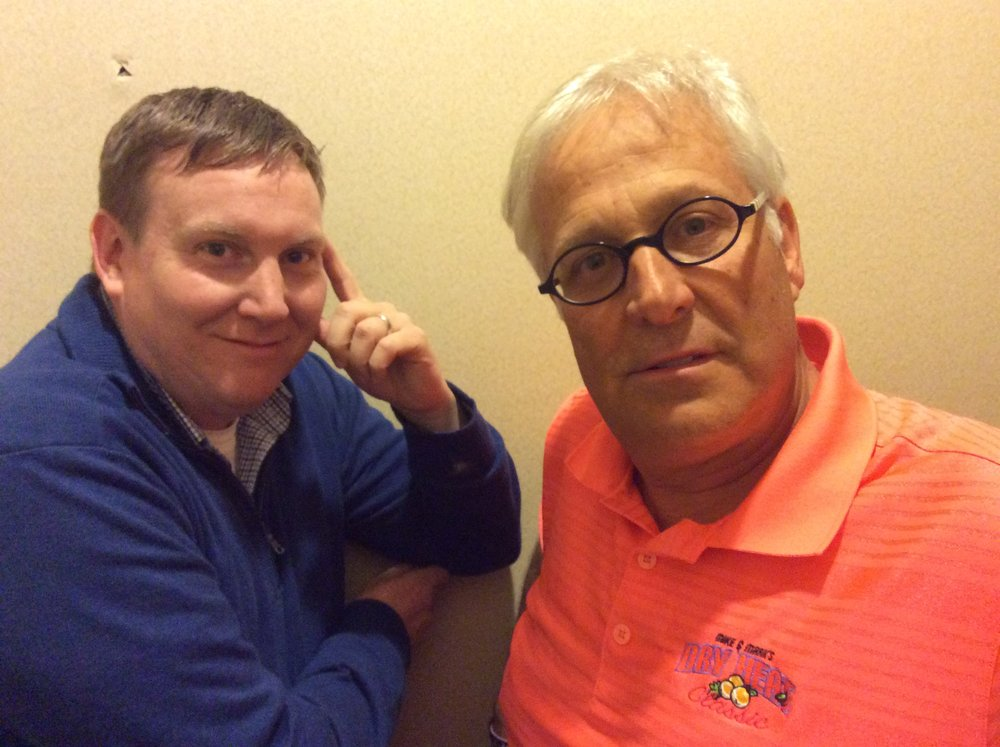 Rick Merrill and Steve Bargatze