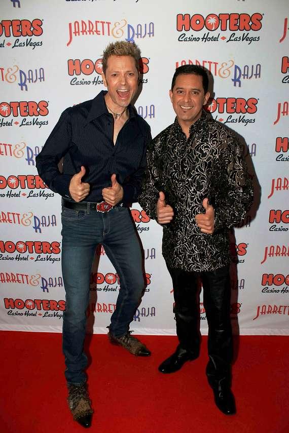 Jarrett and Raja at Hooters.jpg
