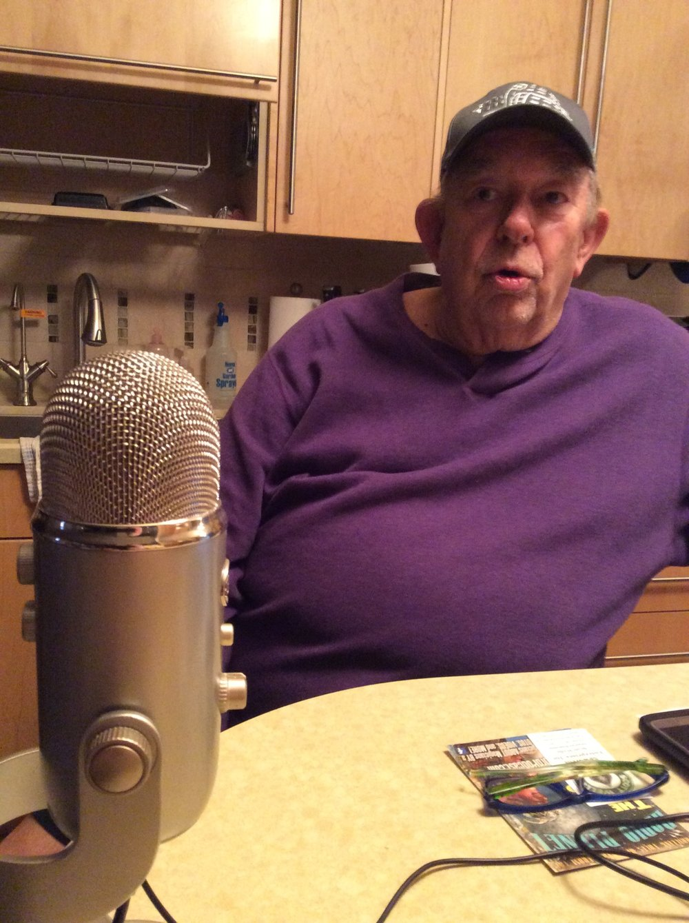 Recording at home with Robin Leach