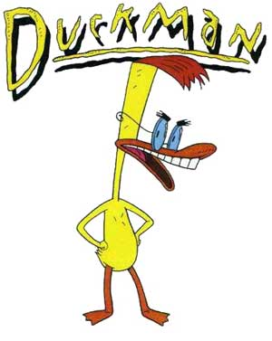 "Jason Alexander as ""Duckman"""