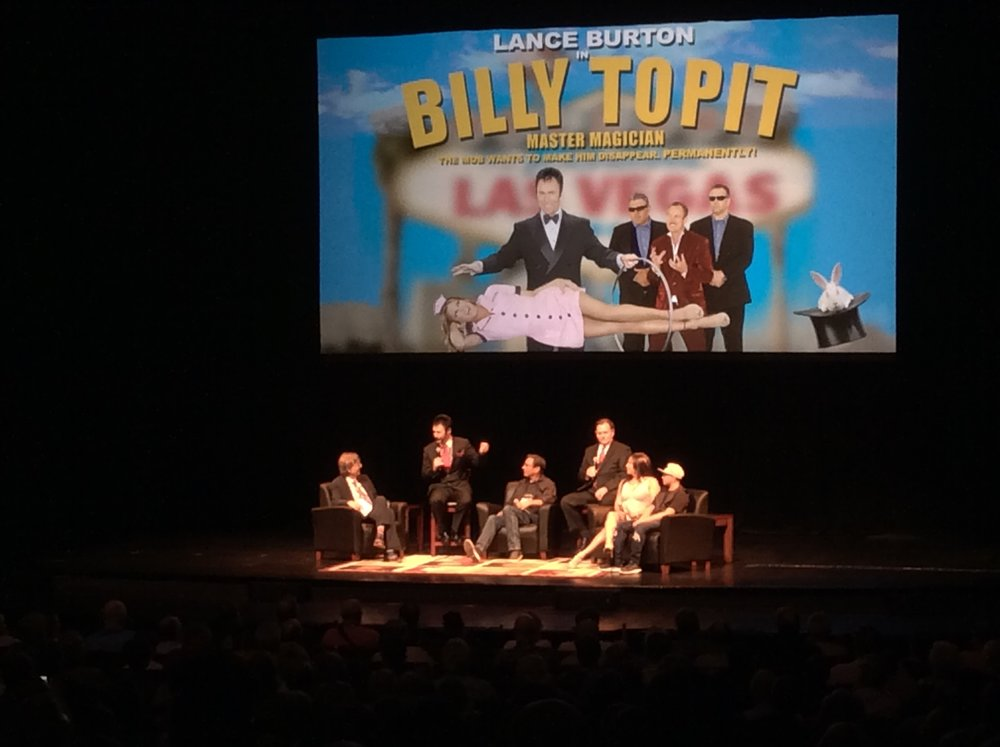 "Q&A After the Screening of ""Billy Topit"""