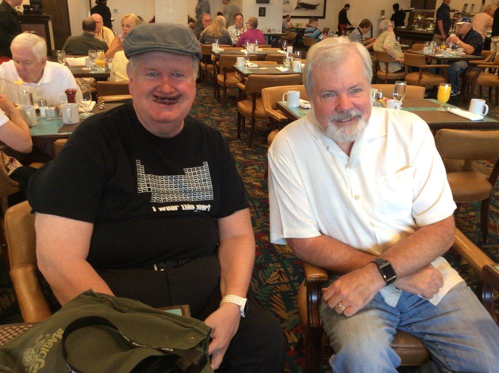 Dan Garrett and Scott Wells
