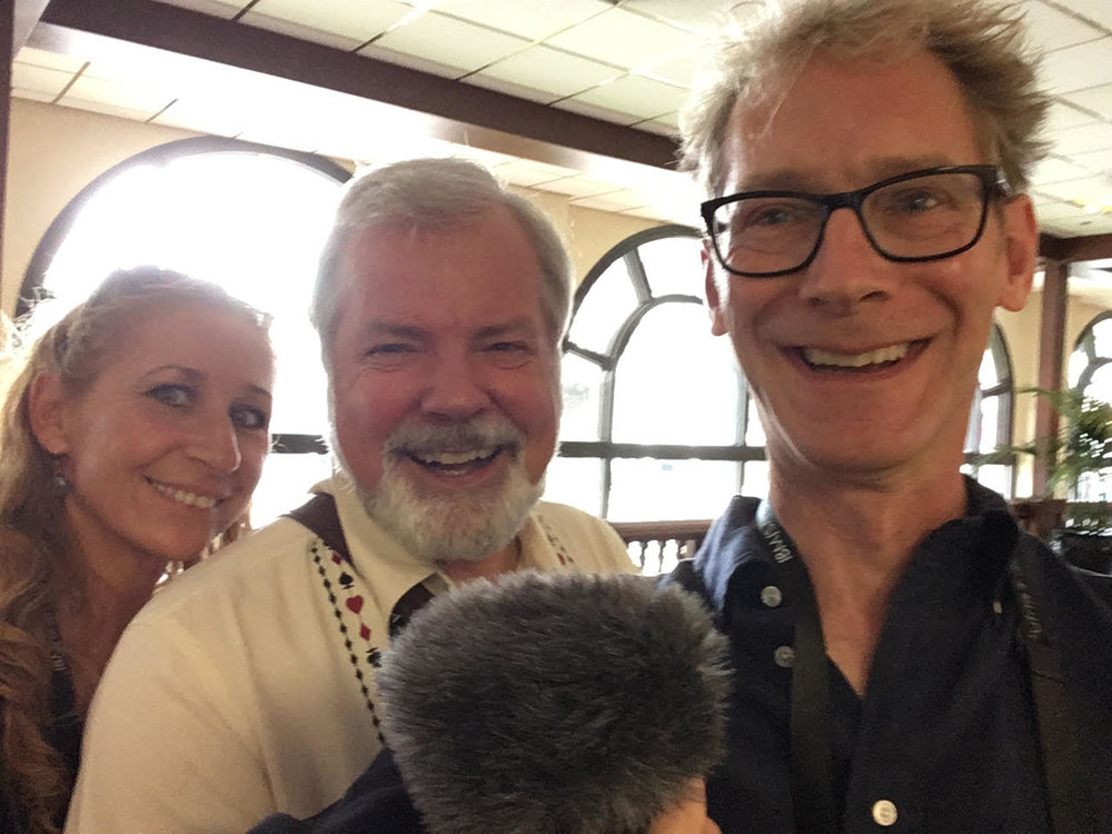 Marion Outerbridge, Scott Wells and Ted Outerbridge
