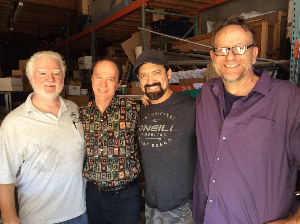 Craig Greenwood, Andre Kole, Time Kole, Les McKinney