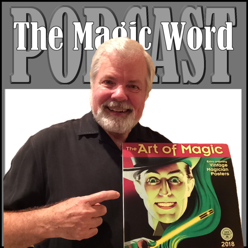 I've got mine. Have you ordered yours yet? Click on the graphic above to visit Amazon.com and purchase your 2018 calendar while helping supprt The Magic Word Podcast. Or you can  Click Here .to visit the Amazon.com site for more information. Thank you and Happy Holidays!