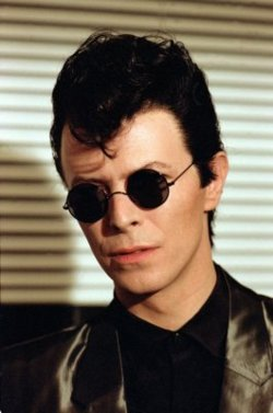 David Bowie in sunglasses