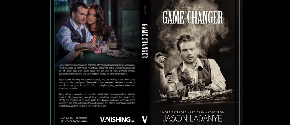 "Dust Jacket from his next book, ""Game Changer"""