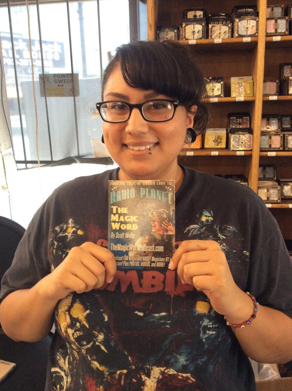 Jessica at Gambler's General Store