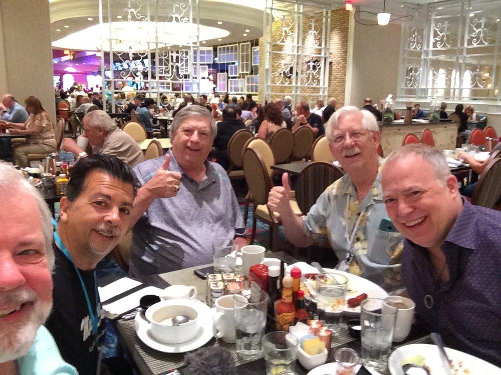 John Rose, David Hinkin, Dick Olson, and Jon Stetson