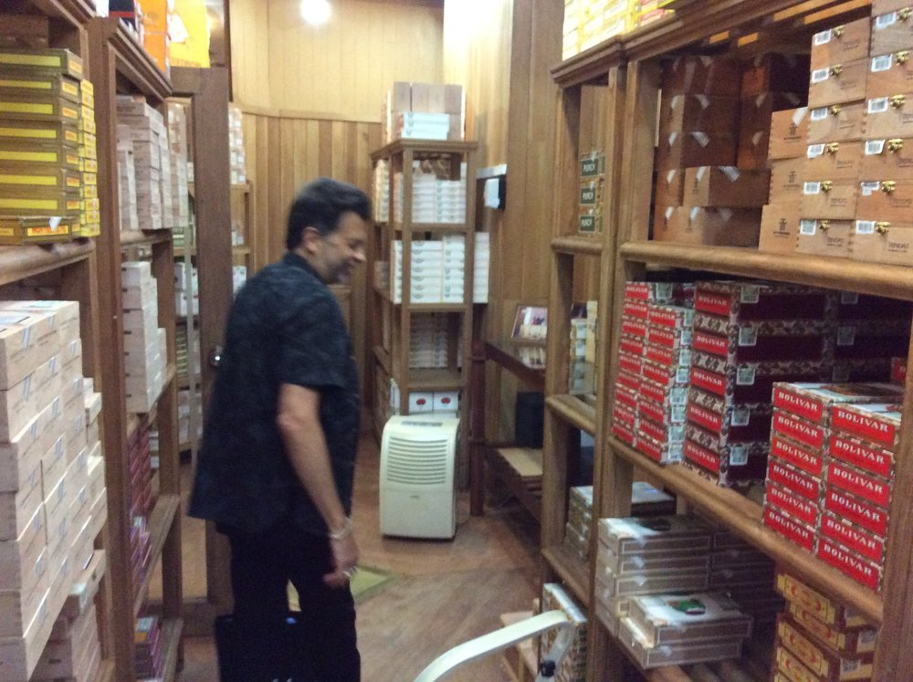 John Rose in the Humidor Tour