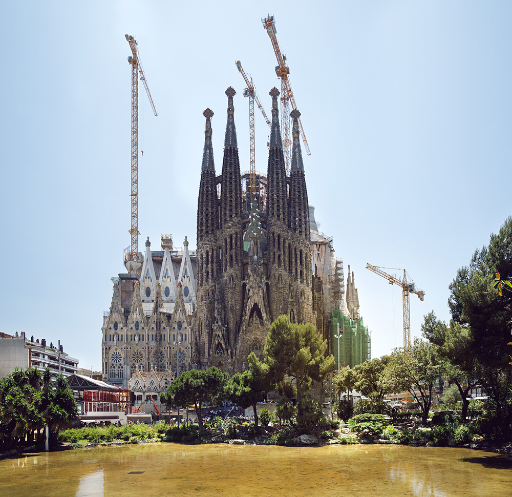 Gaudi's Sagrada Família. Every time I see it I am always impressed.