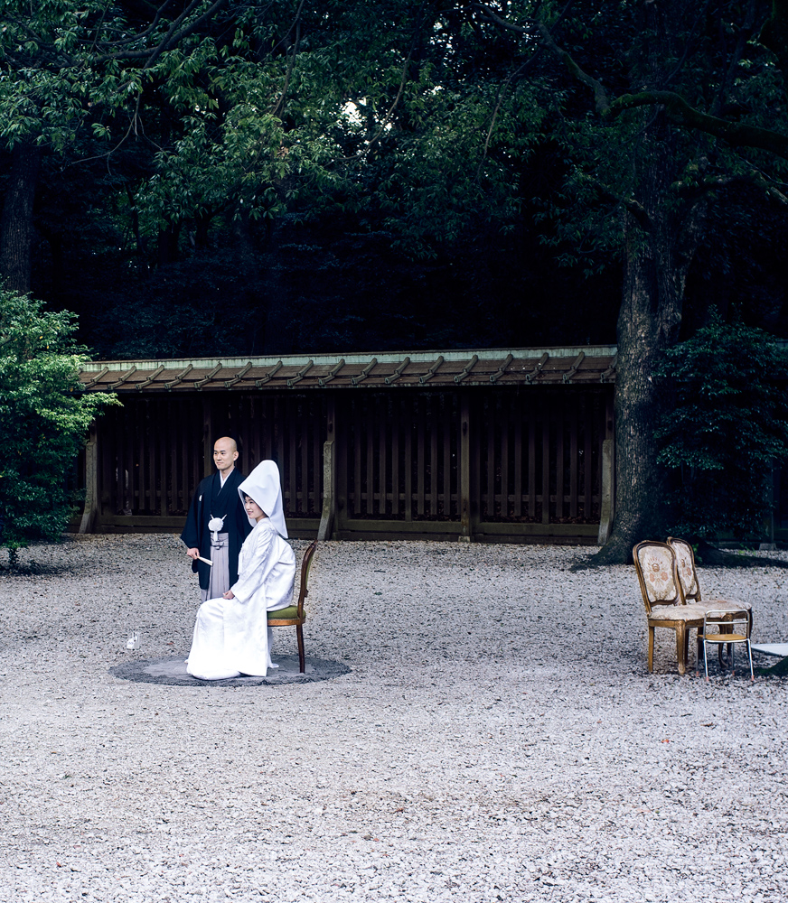 Wedding in Meiji Jingū Shrine.   Fuji X100