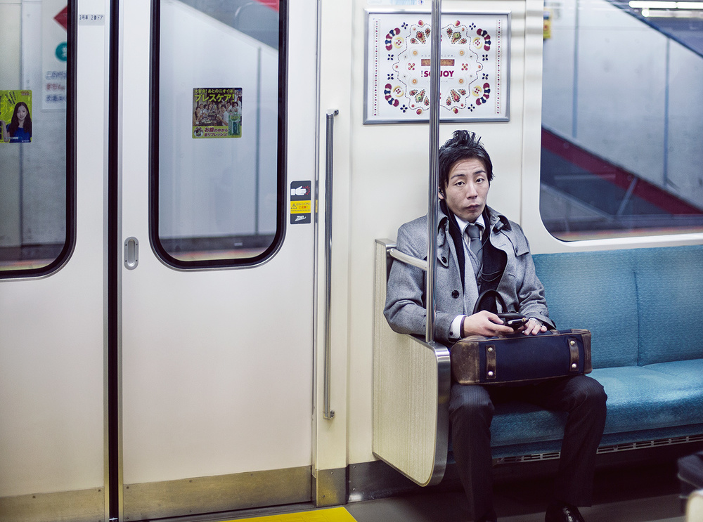 Tokyo Subway Canon 5D Mark III + Canon 50mm f/1.4
